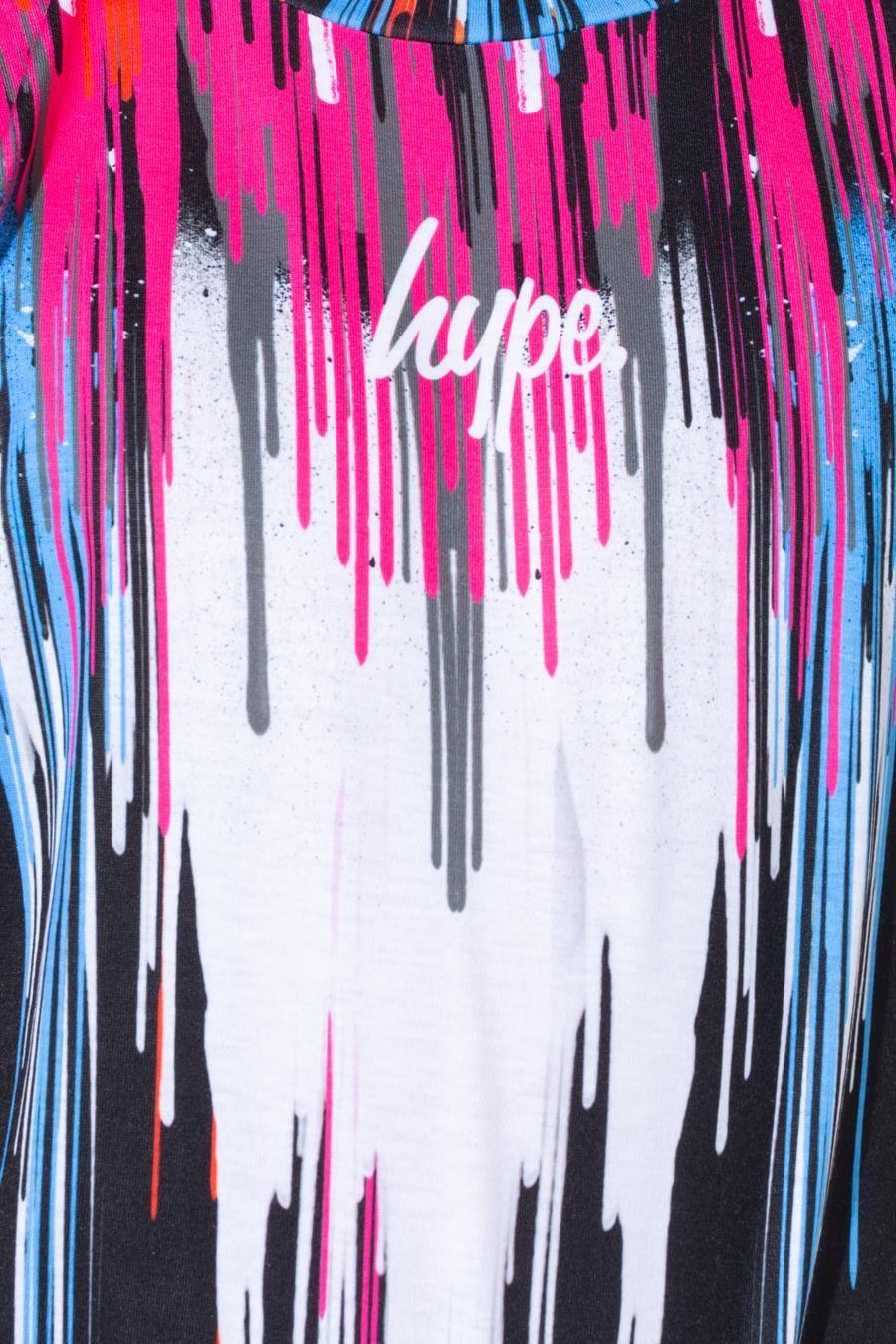 Hype Rainbow Chevron Drips Kids T-Shirt