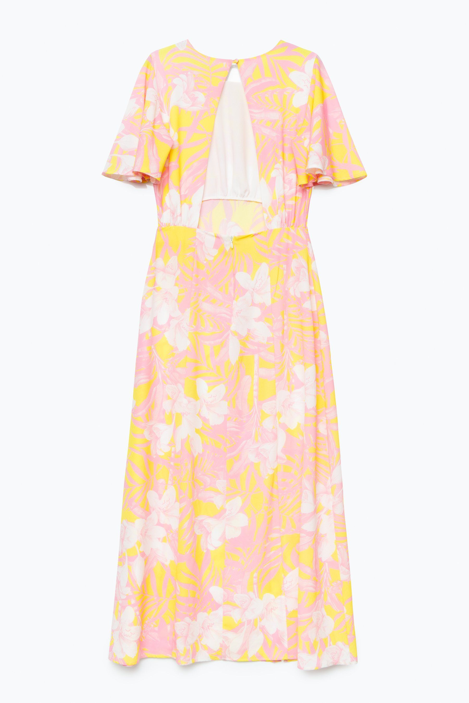 Hype Pastel Floral Womens Maxi Dress