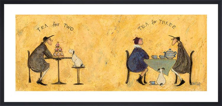 Tea for Two Tea for Three by Sam Toft