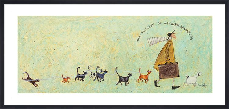 The Suitcase of Sardine Sandwiches by Sam Toft