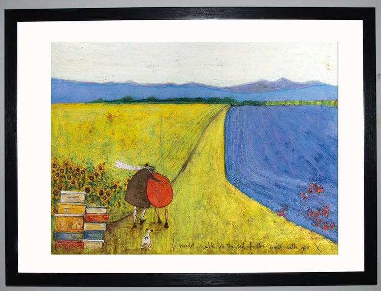 I Would Walk To The End Of The World With You by Sam Toft