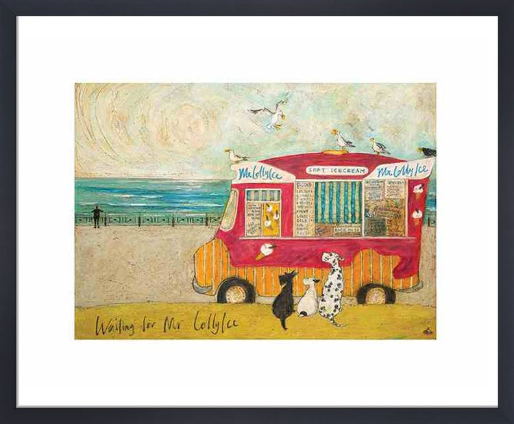 Waiting for Mr Lollyice by Sam Toft