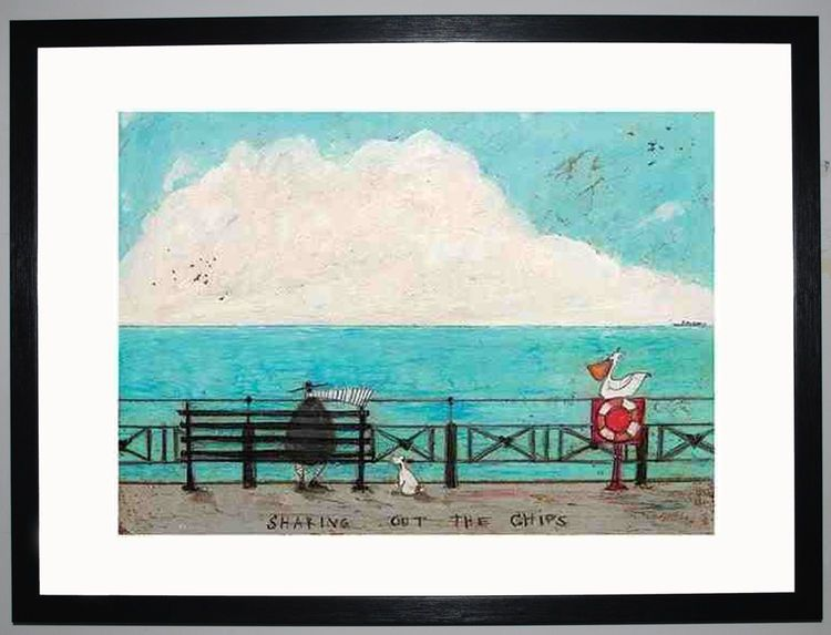 Sharing out the Chips by Sam Toft
