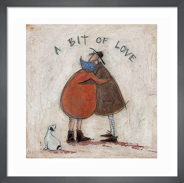 A Bit of Love by Sam Toft