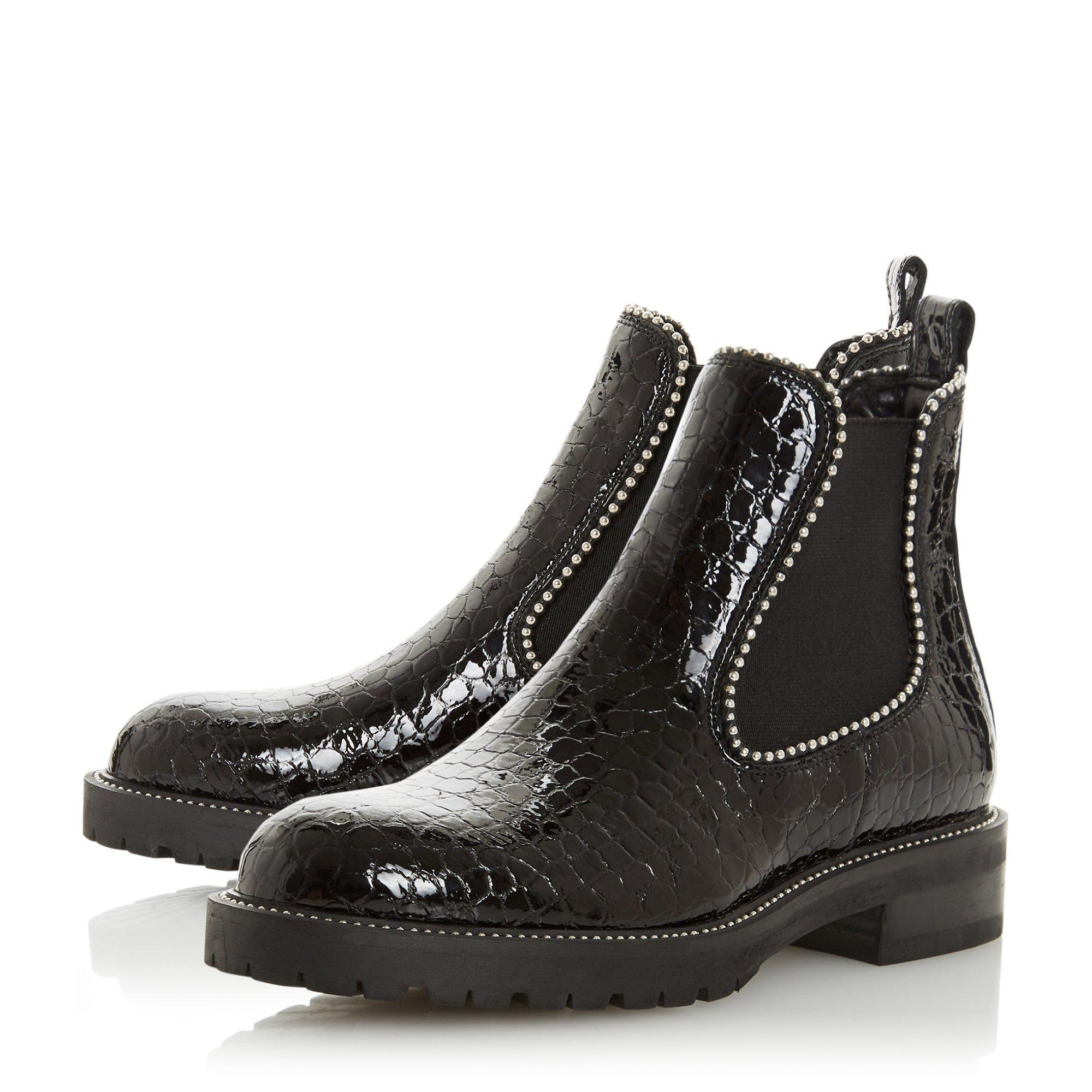Dune Ladies PRESTIGE Studded Chelsea Boots