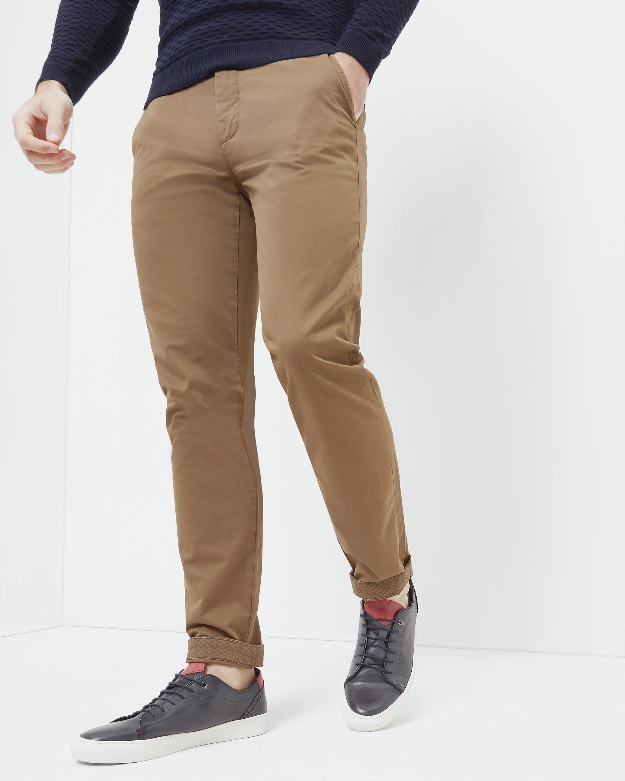 Ted Baker Procor Slim Fit Chinos, Tan