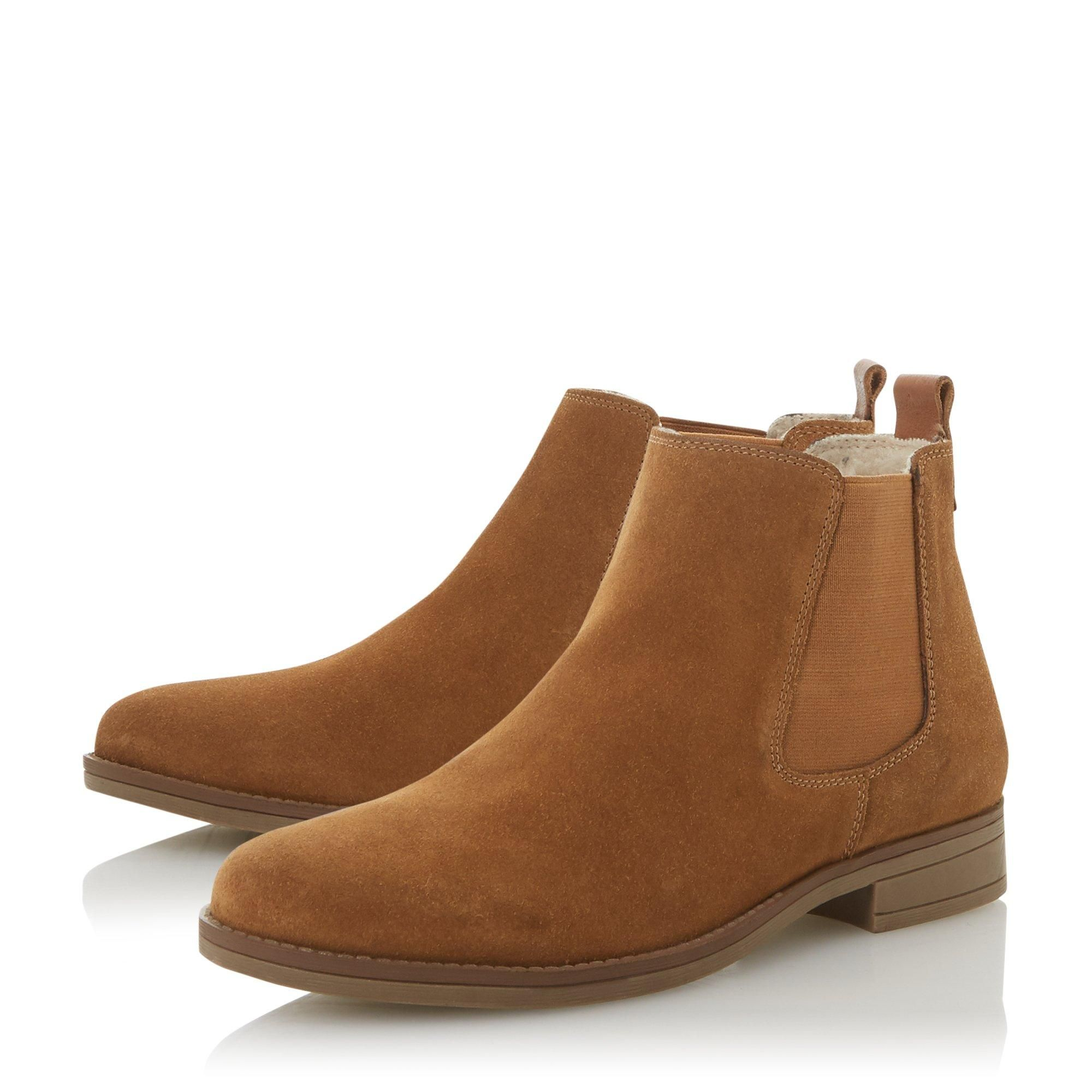 Dune Ladies PROMPTED 2 Borg Lined Chelsea Boots