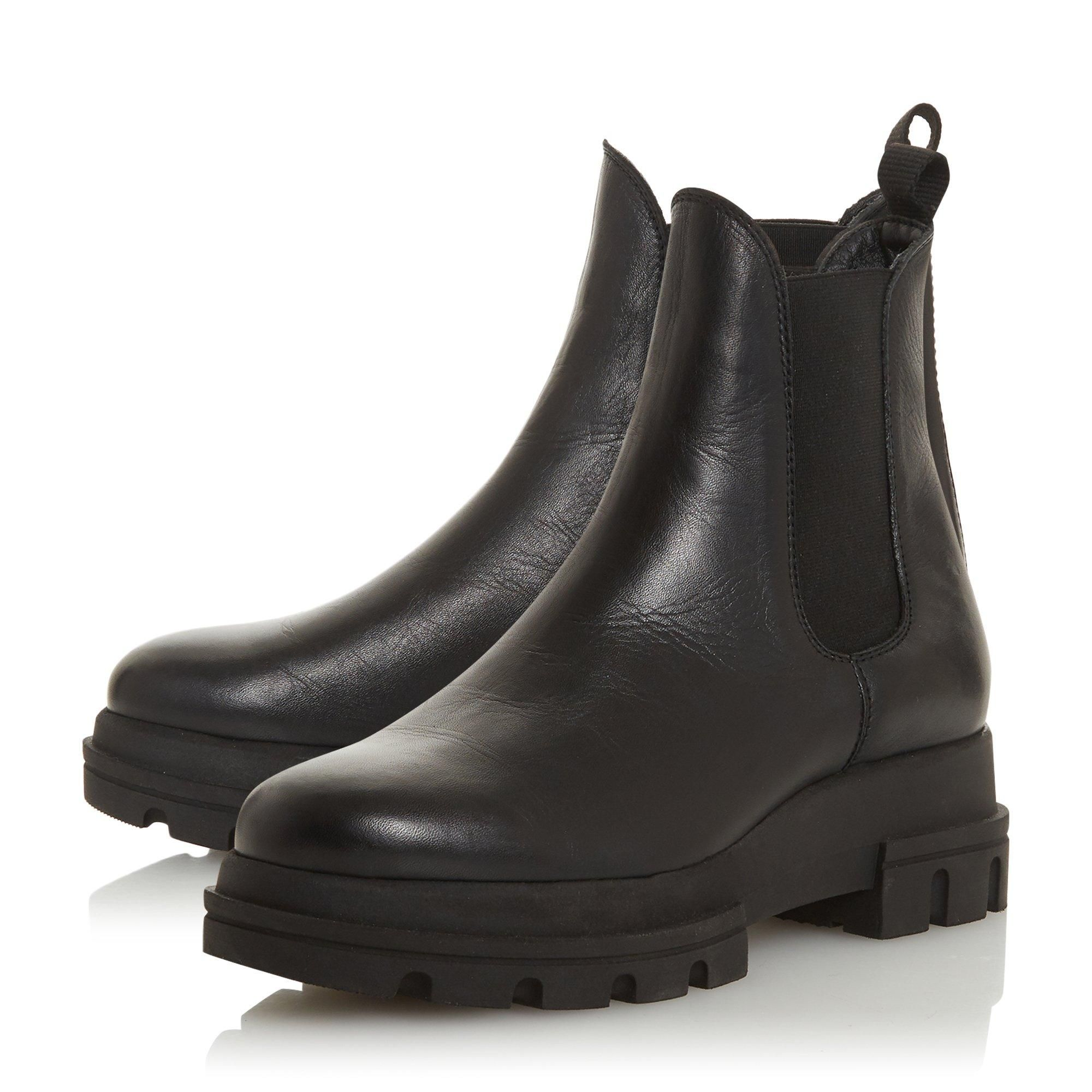 Dune Ladies PROVENSE Chunky Outsole Chelsea Boots