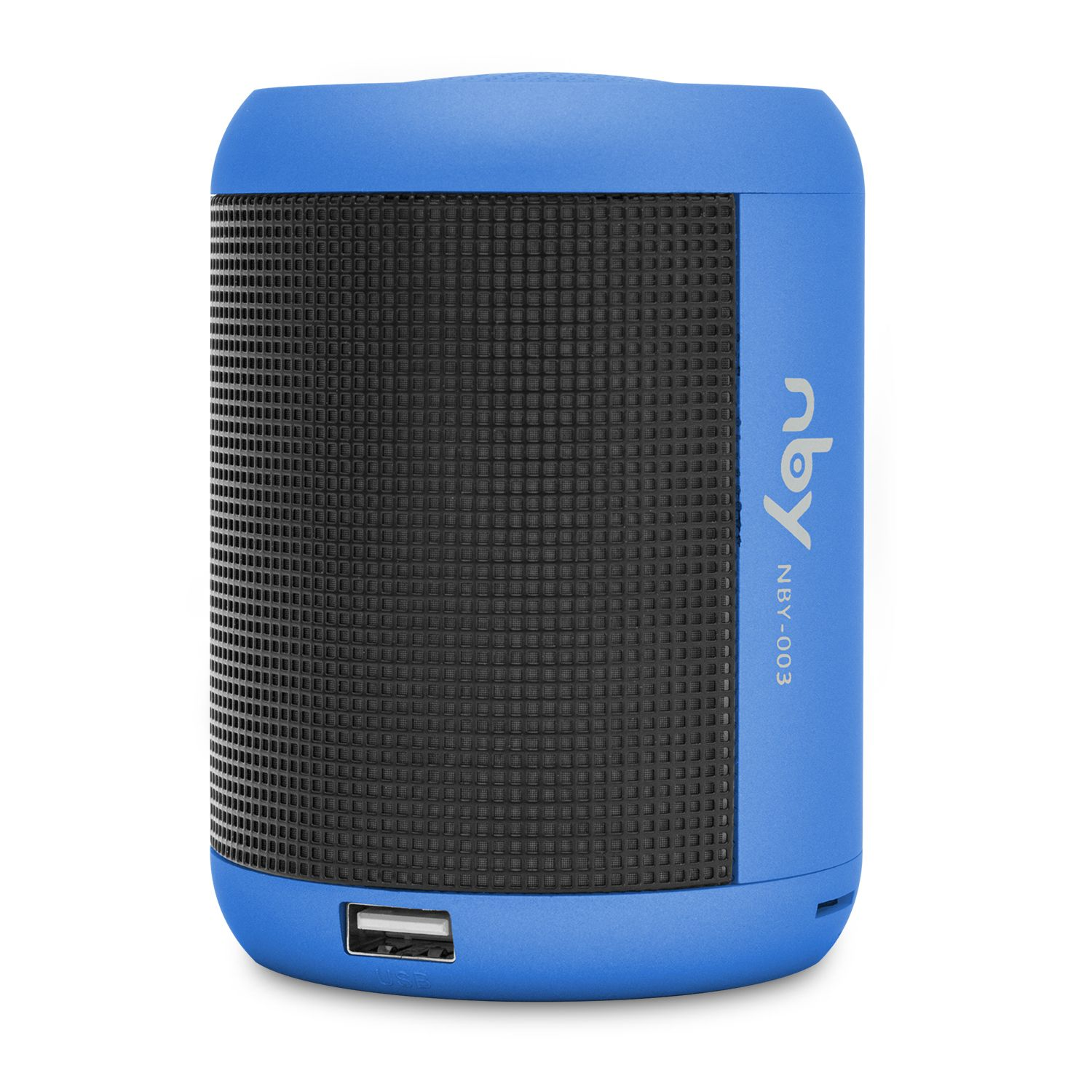 NBY Small LED Light Speakers Blue