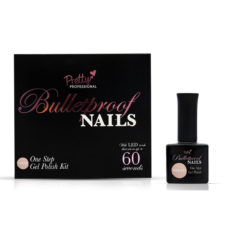 Pretty Professional Bulletproof Nails Gel Polish Kit Naked