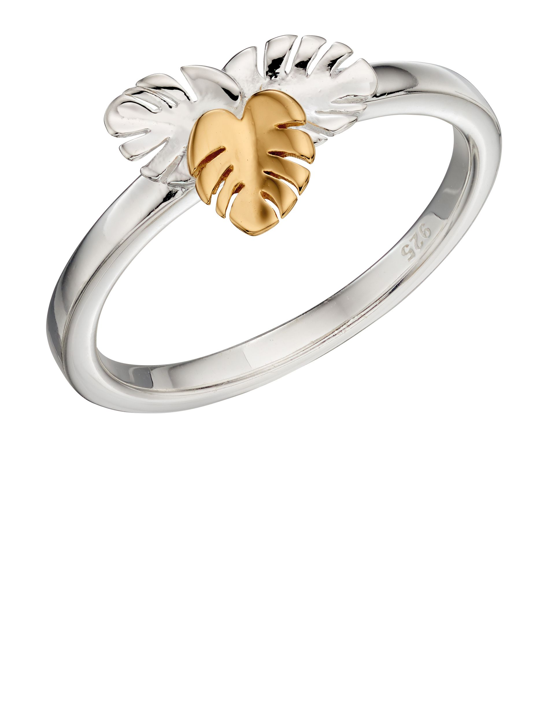 Elements Silver - Women Cubic Zirconia Ring