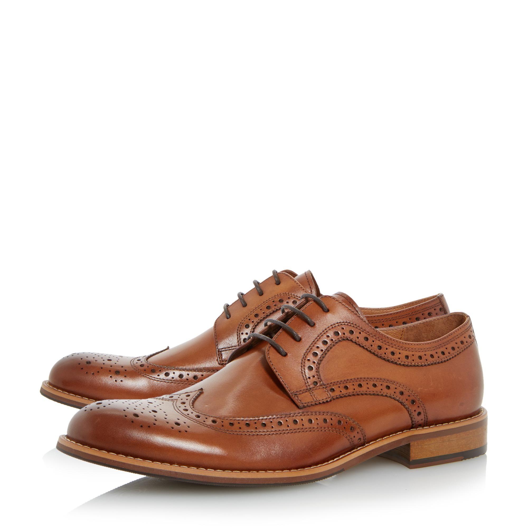 Dune Mens RADCLIFFE Derby Brogue Shoes