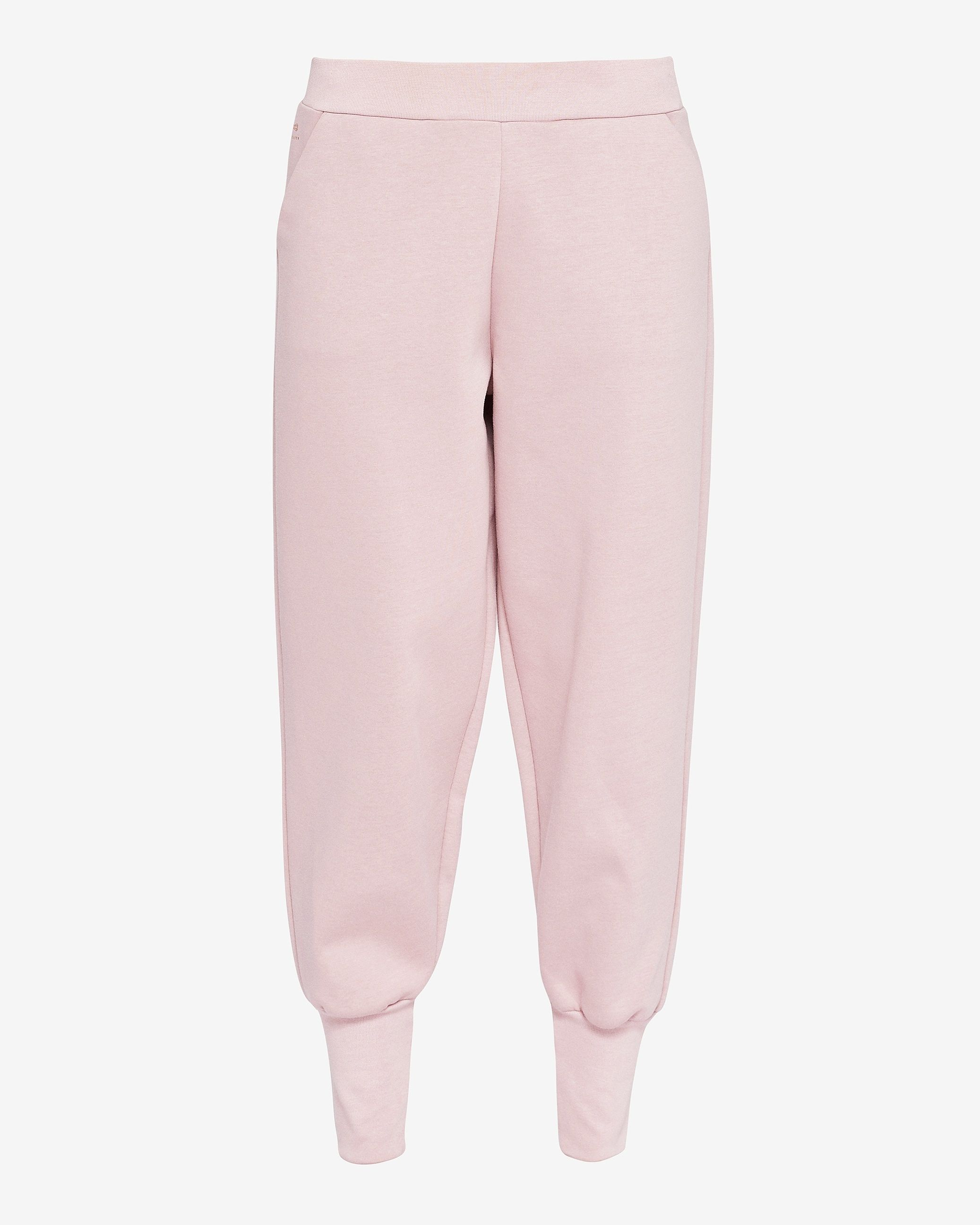 Ted Baker Radonna Ribbed Cuff Jogger Trousers, Dusky Pink