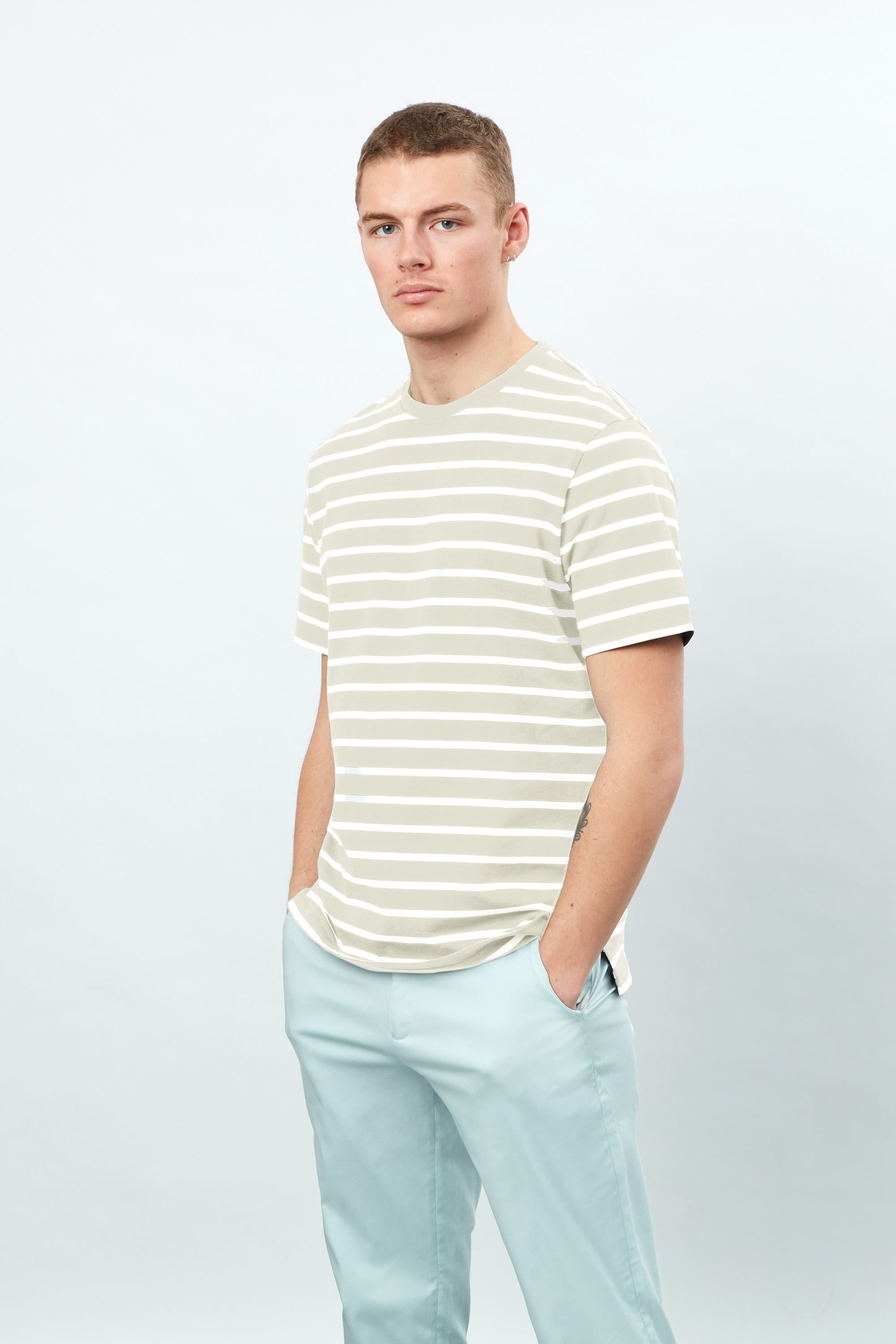 Short Sleeve YD Striped tee