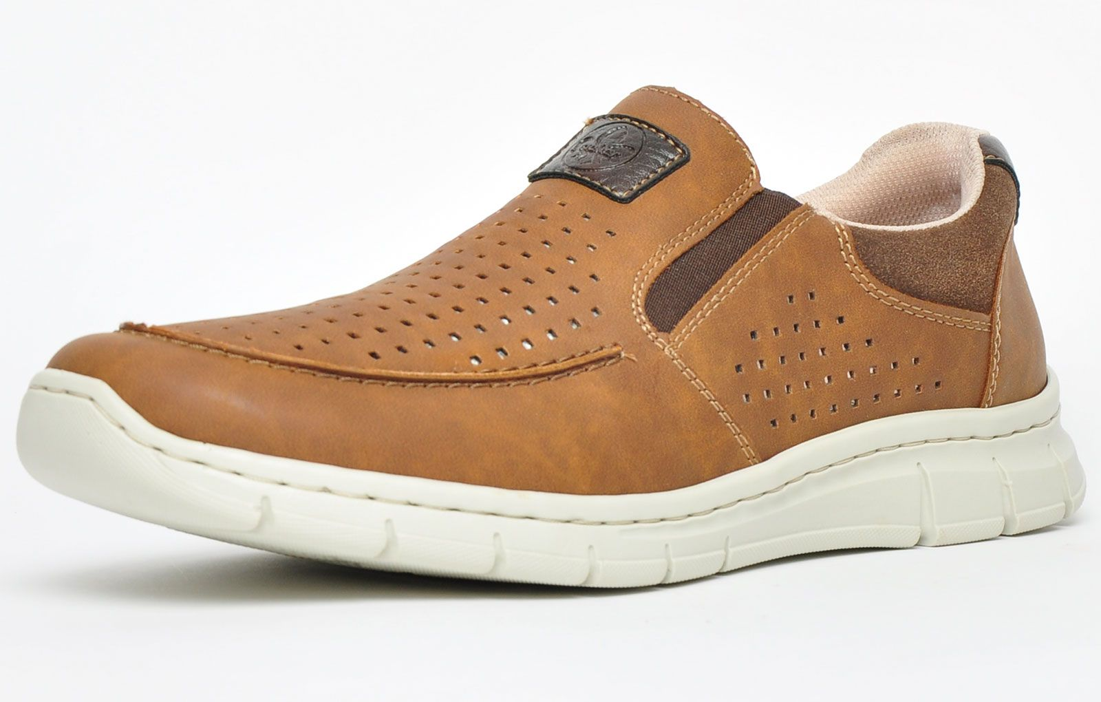 Rieker Casual Slip On Loafer B7766-24 Mens Wide Fit