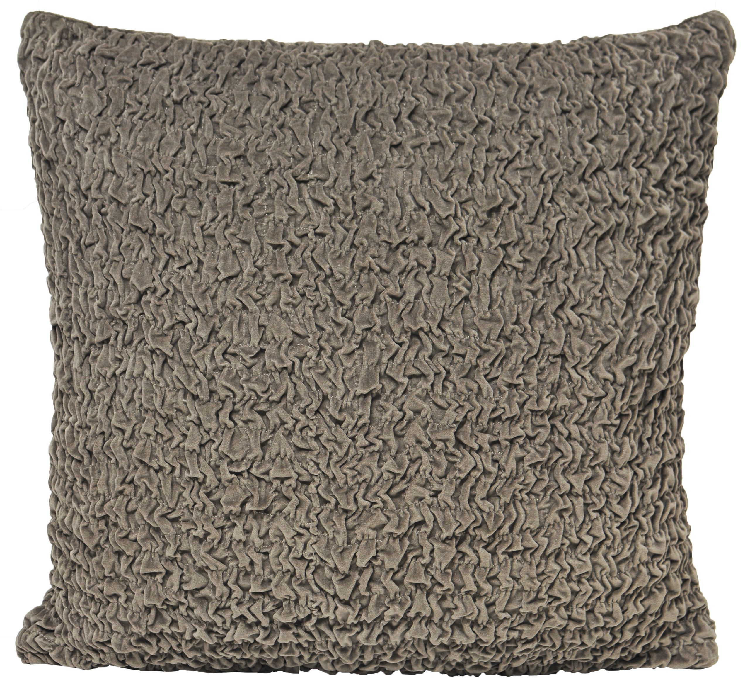 Rouched Polyester Filled Cushion