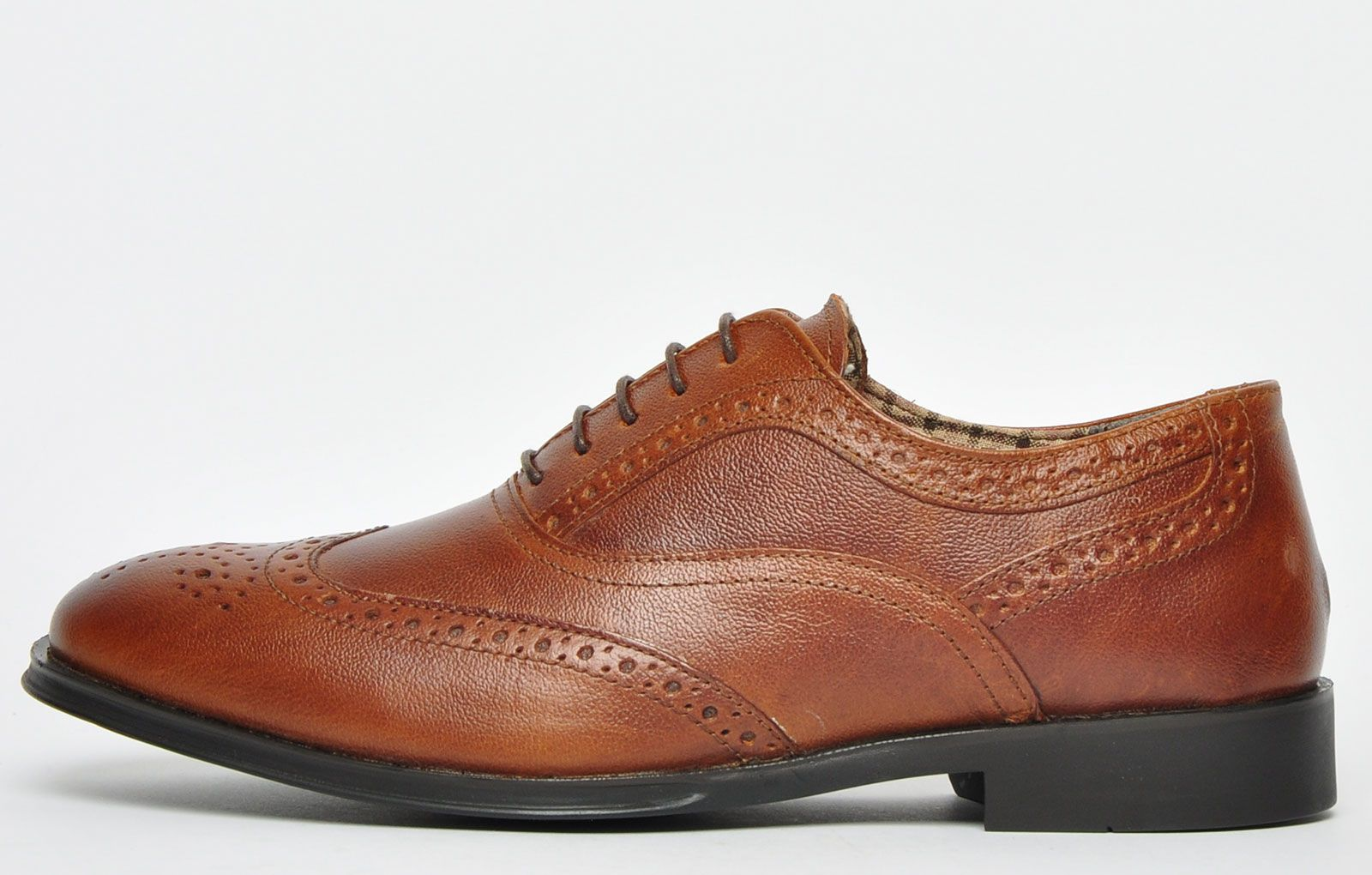 Red Tape Winston Leather Mens