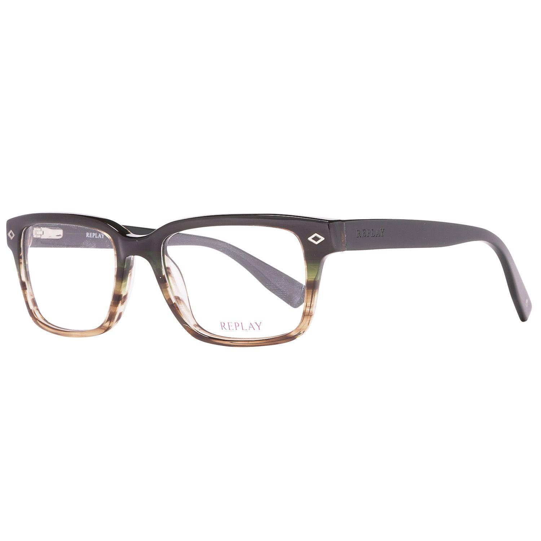Replay Optical Frame RY125 V03 52 Men Multicolor