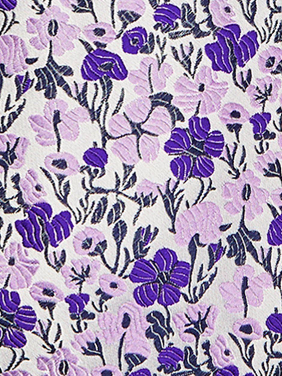 Vespa Floral Tie Purple