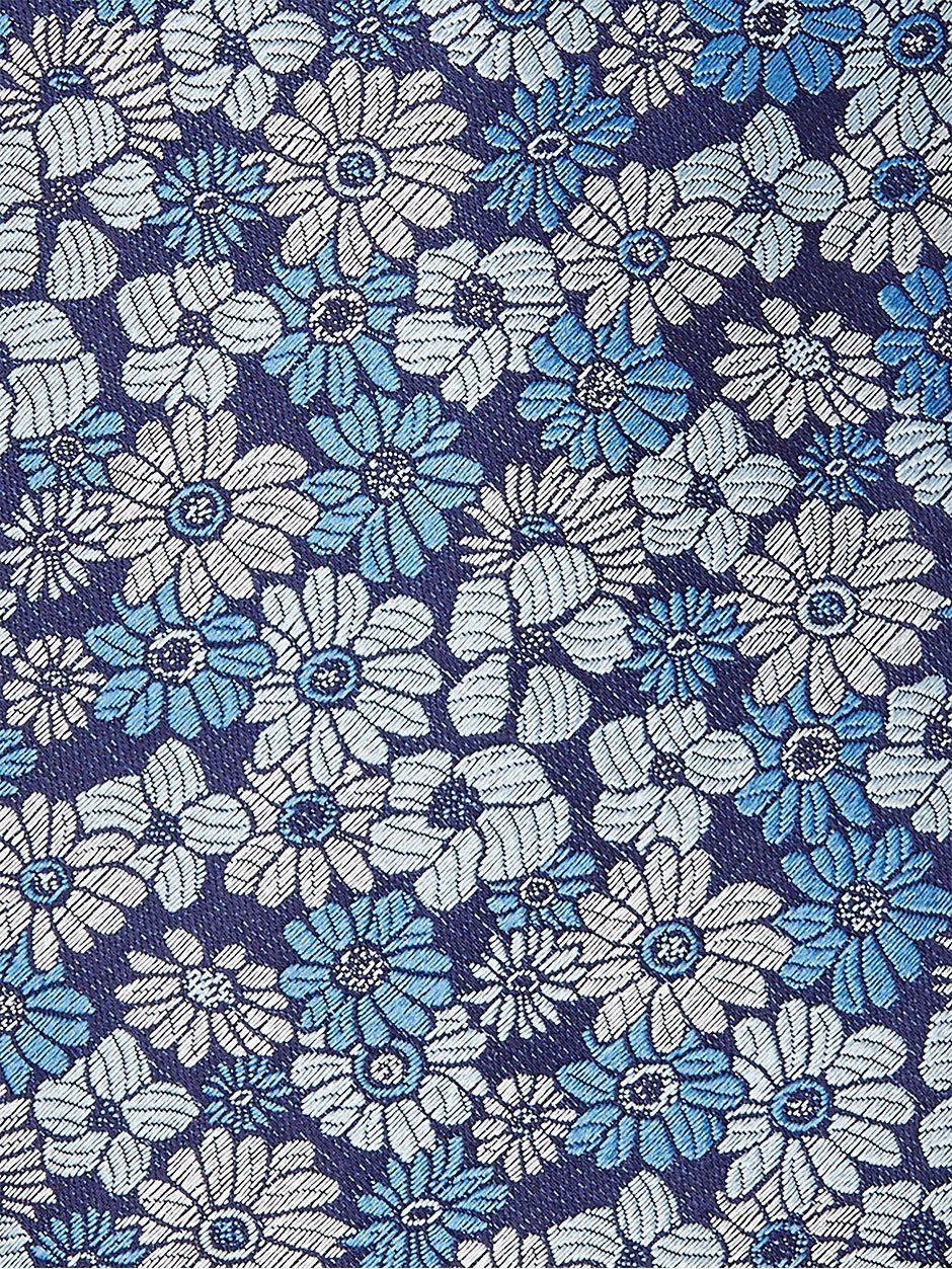 Pastel Floral Tie Blue