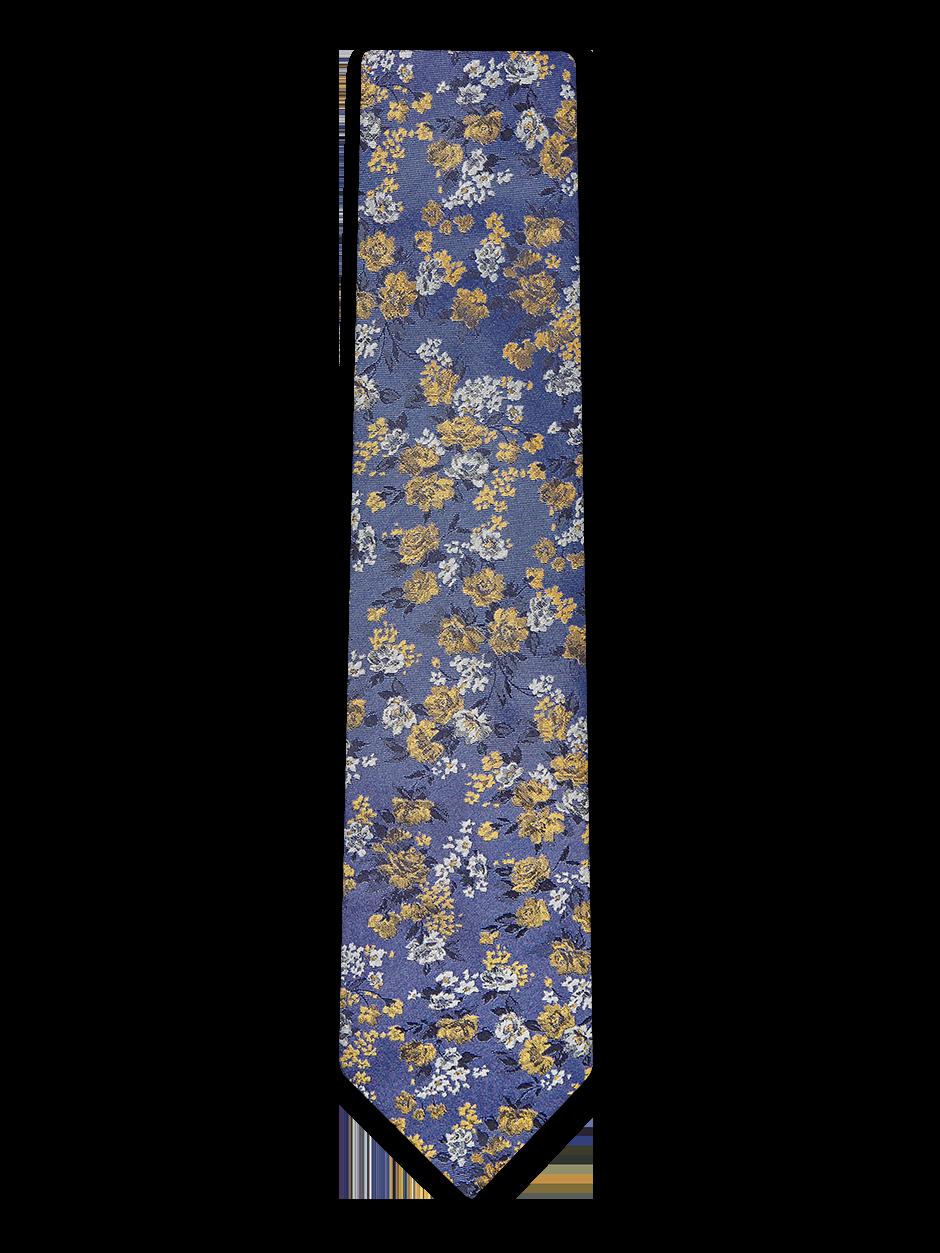 Flash Floral Tie Purple