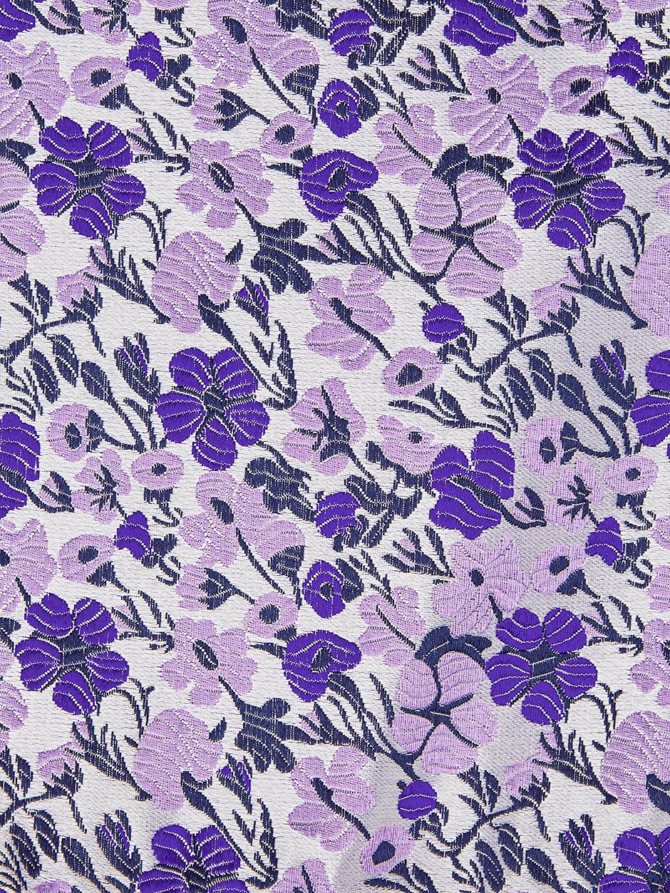 Vespa Floral Pocket Square Purple
