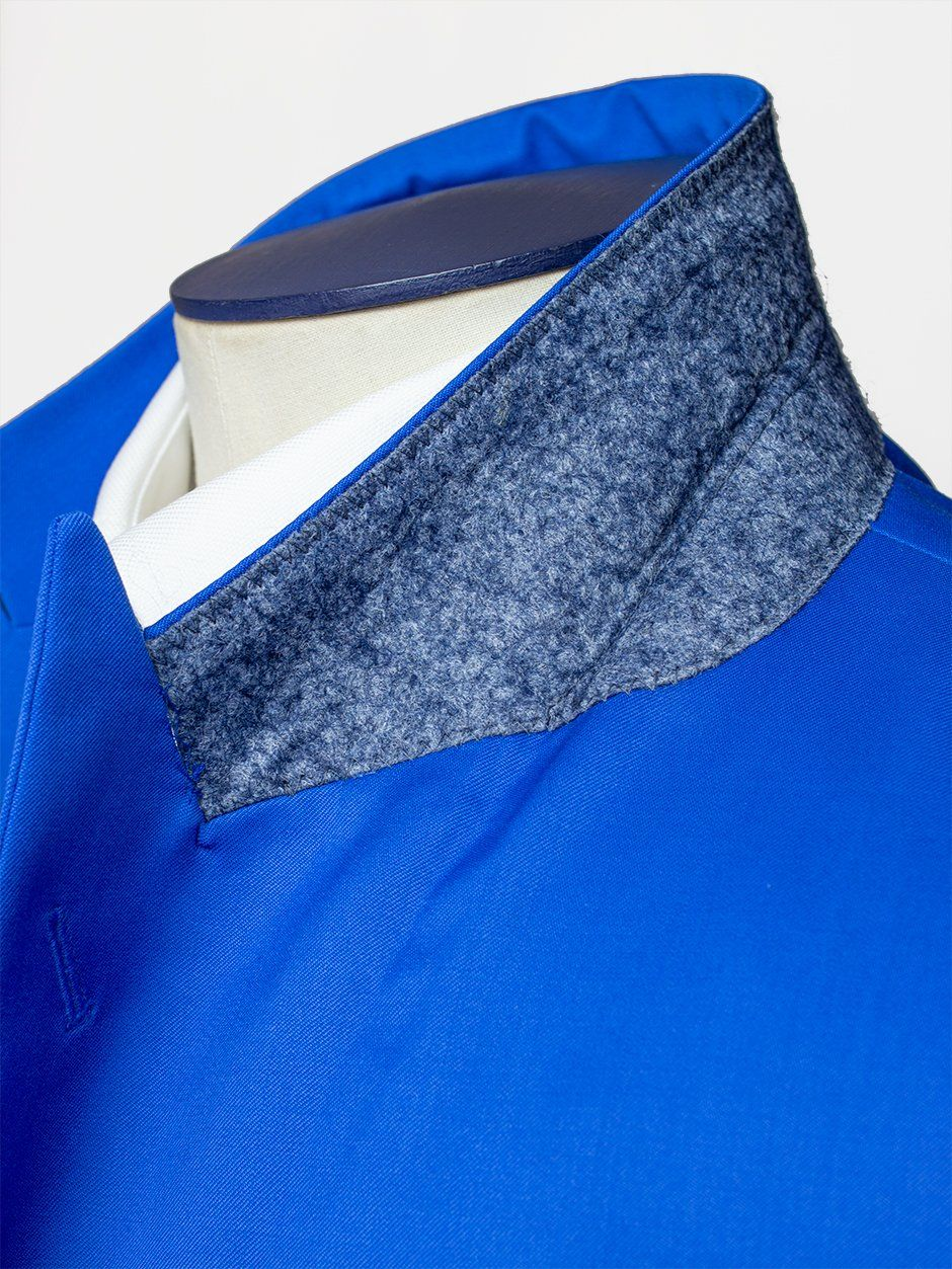 Peak Florence Plain Suit Blue