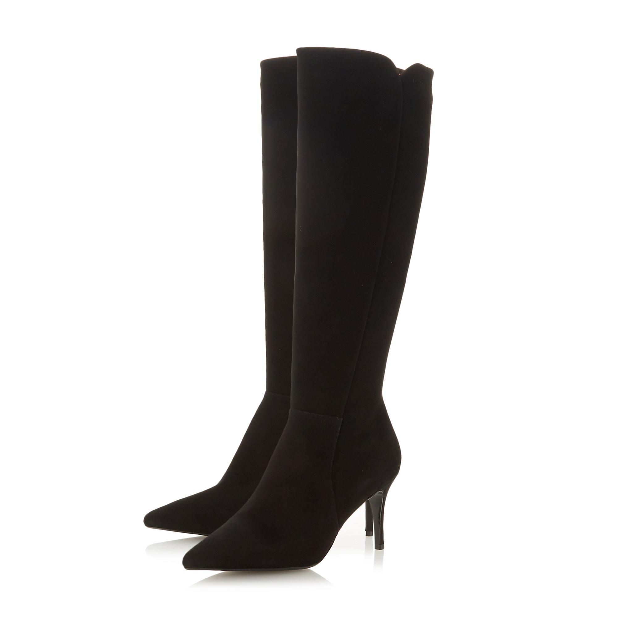 Dune Ladies SAKURAA Pull-On Knee High Boots