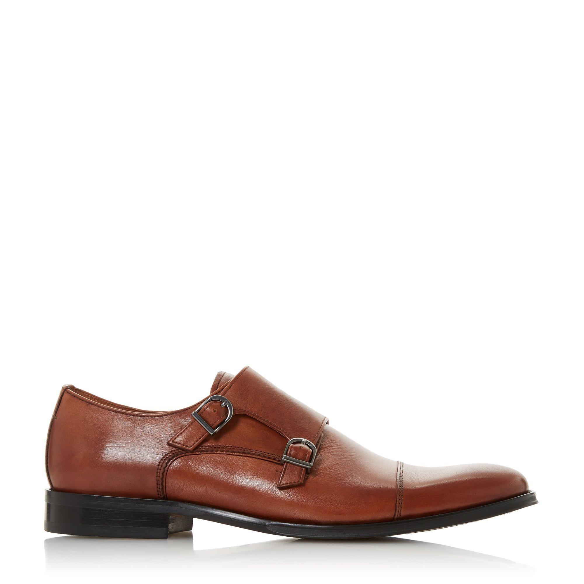 Bertie Mens SEATTLE Double Monk Toecap Shoes
