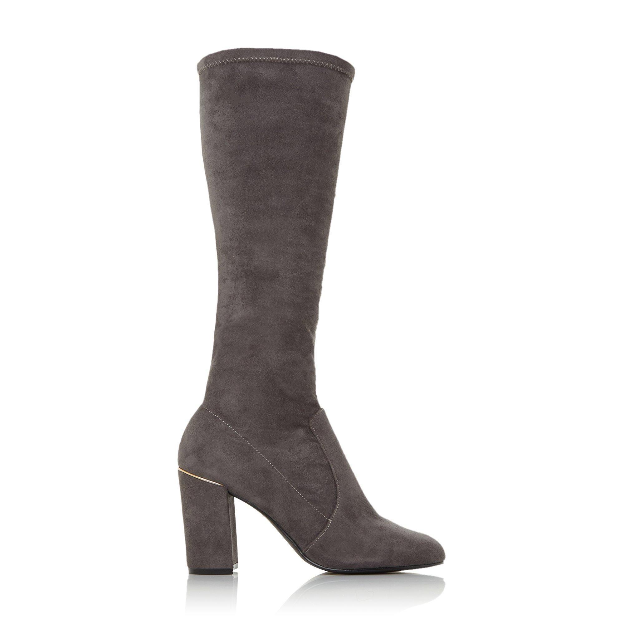 Dune Ladies SERAPHINA XX High Block Heel Boots