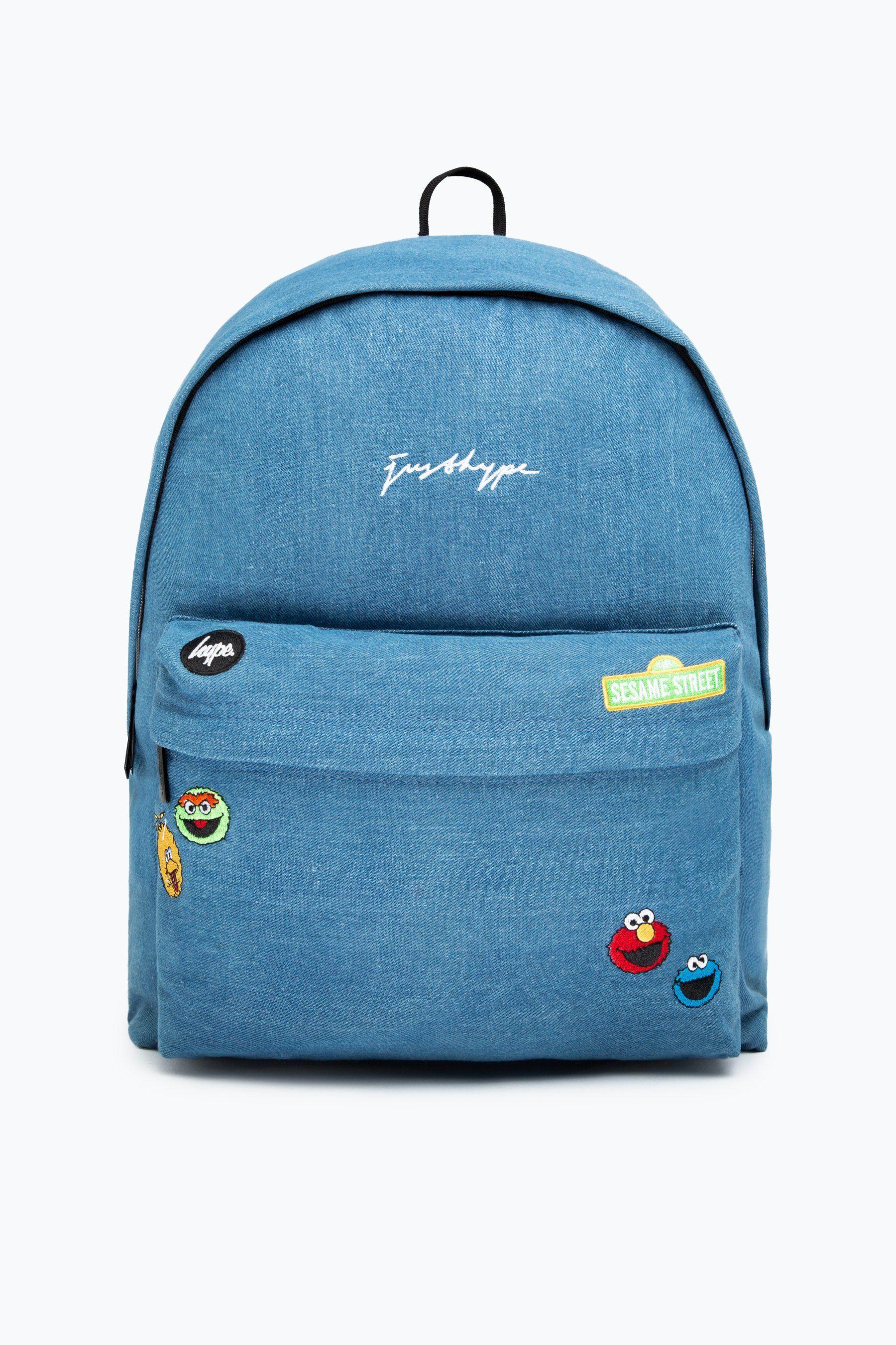 Hype X Sesame Street Denim Character Backpack