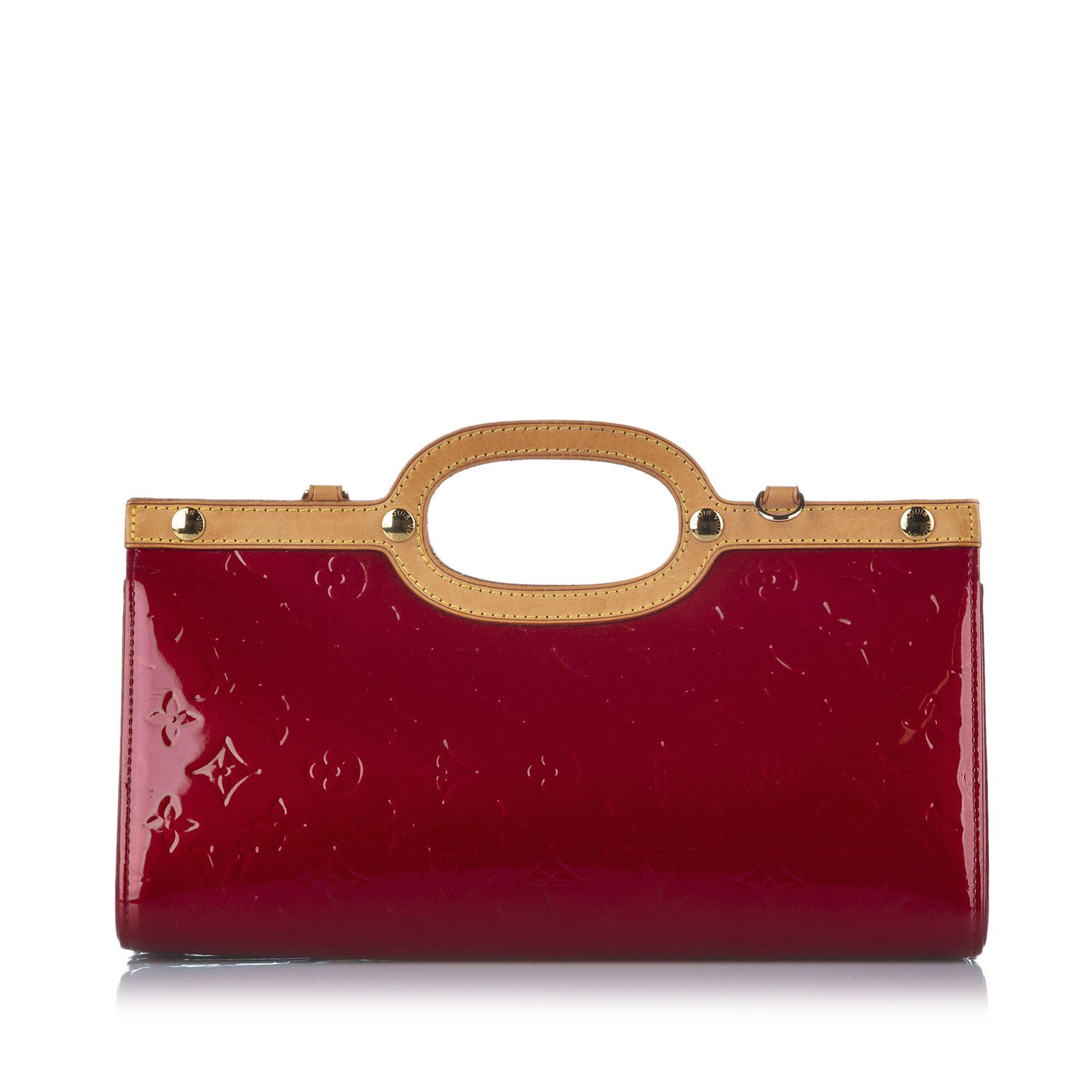 Vintage Louis Vuitton Vernis Roxbury Drive Red