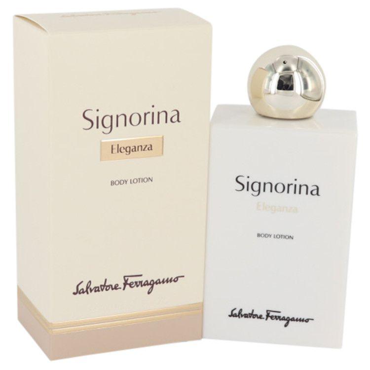 Signorina Eleganza Body Lotion By Salvatore Ferragamo 200 ml