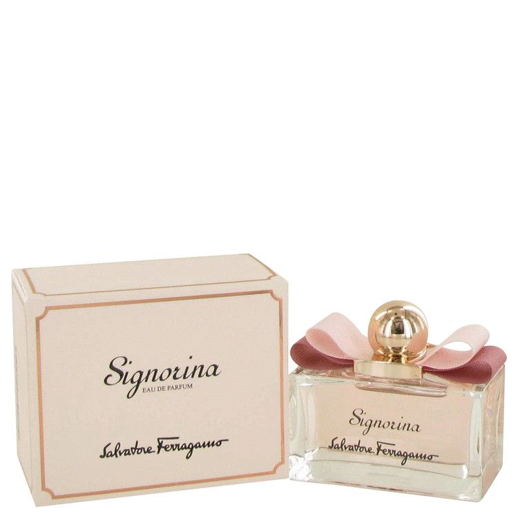 Signorina Eau De Parfum Spray By Salvatore Ferragamo 100 ml