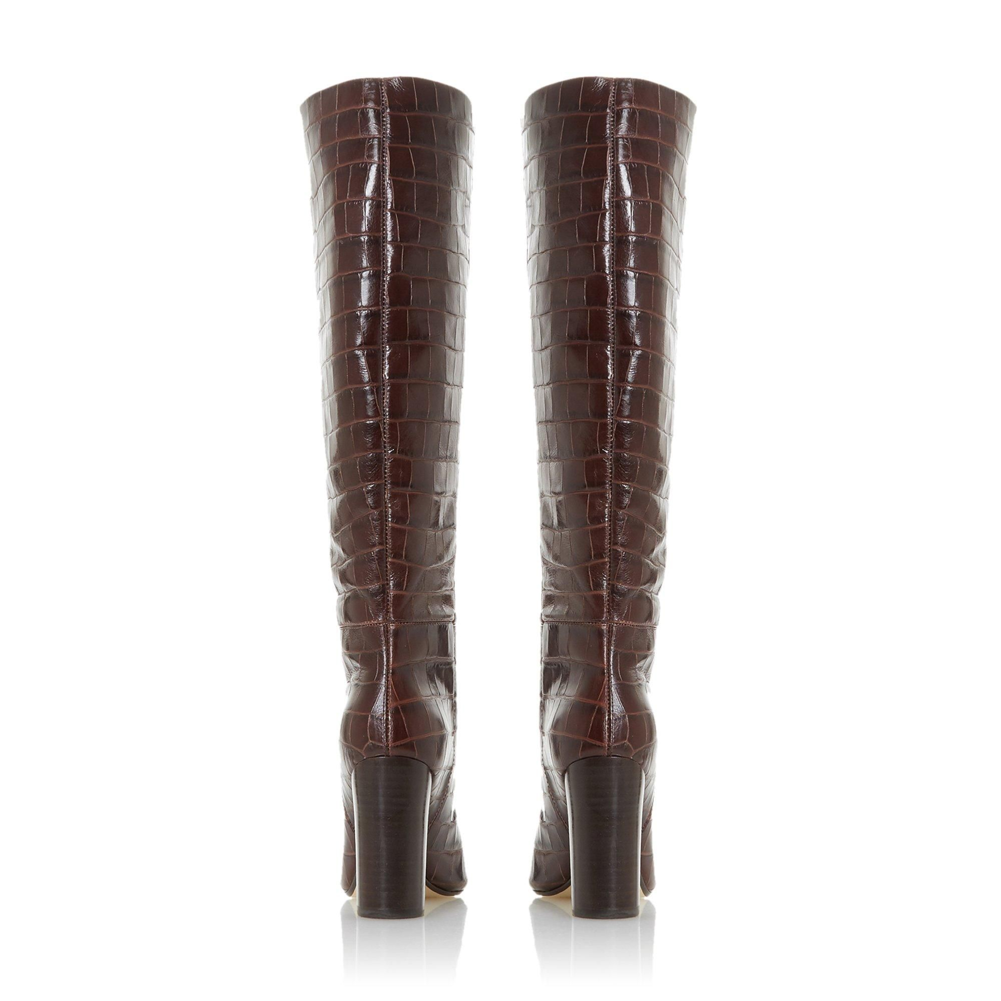 Dune Ladies SIMONNE High Heel Knee High Boots