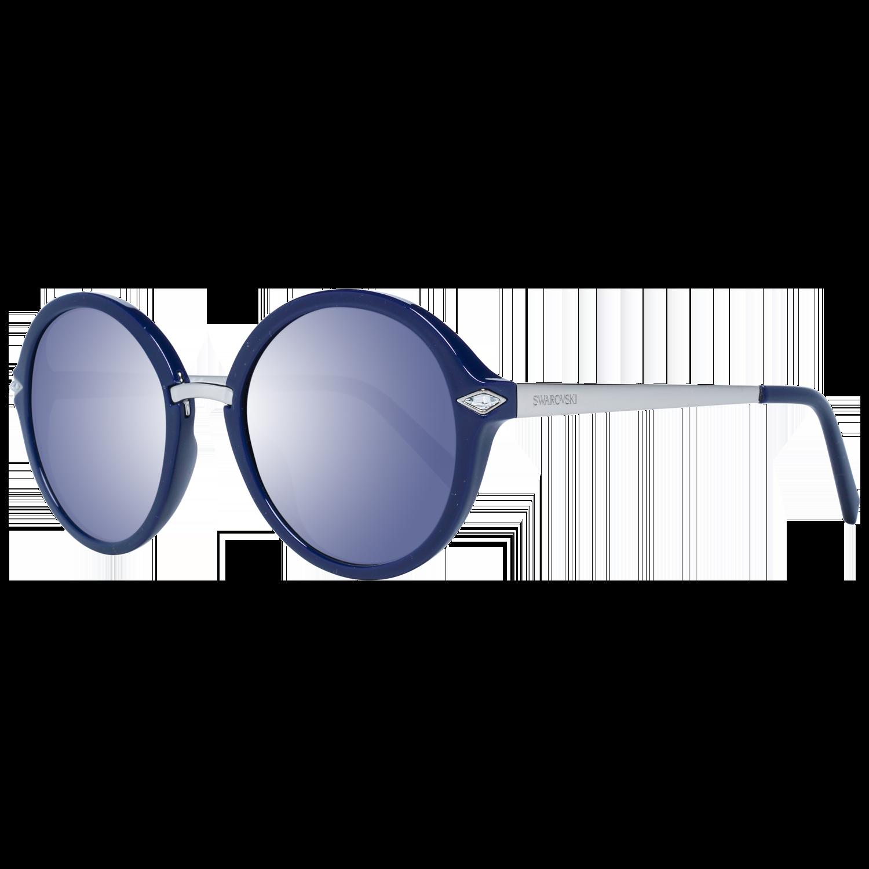 Swarovski Sunglasses SK0153 90X 52 Women Blue
