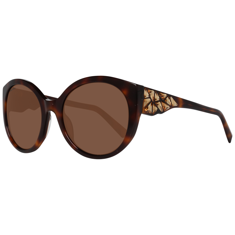 Swarovski Sunglasses SK0174 52E 57 Women Brown