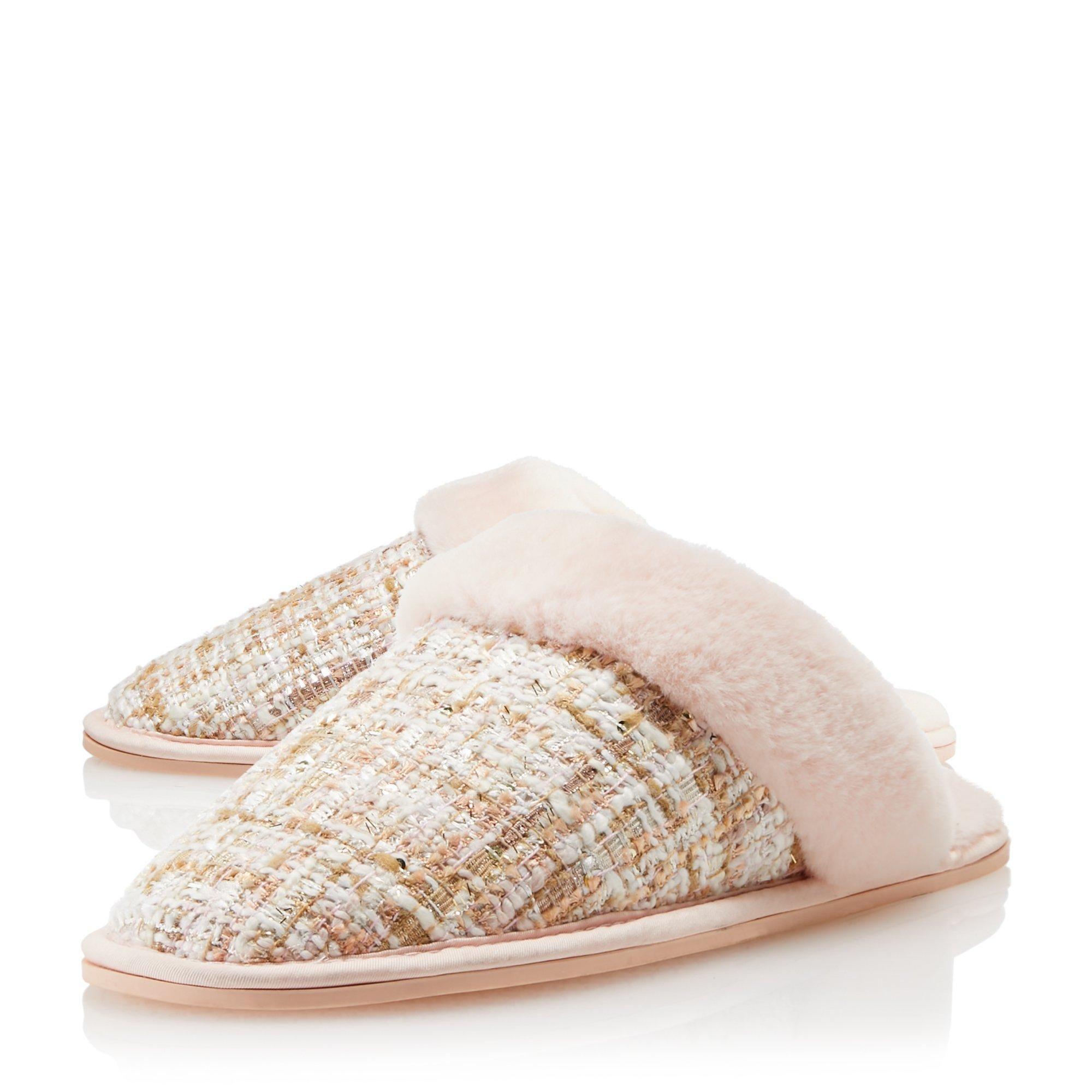 Dune Ladies SNOOZES Warm Lined Mule Slippers