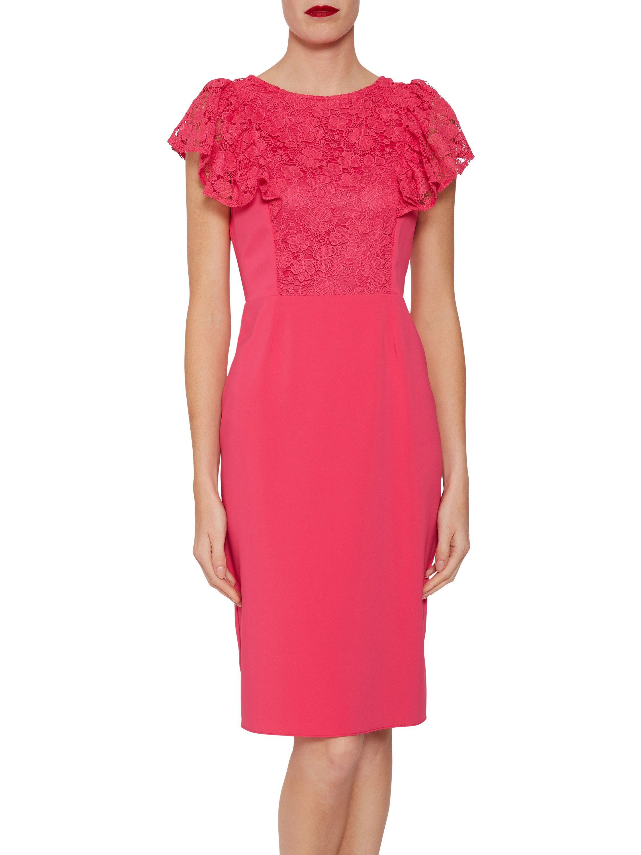 Brandi Moss Crepe Dress