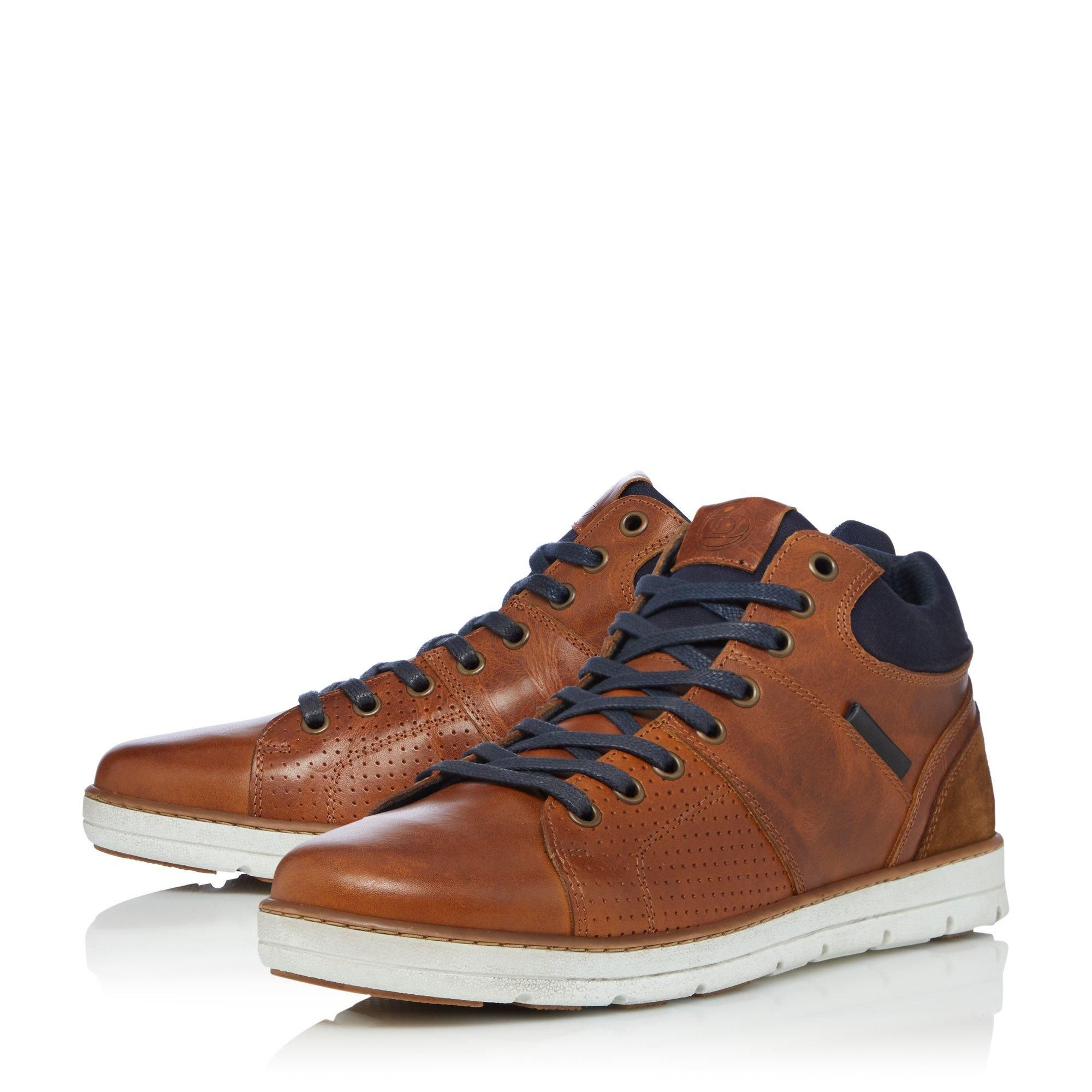 Dune Mens STAKES High Top Trainers