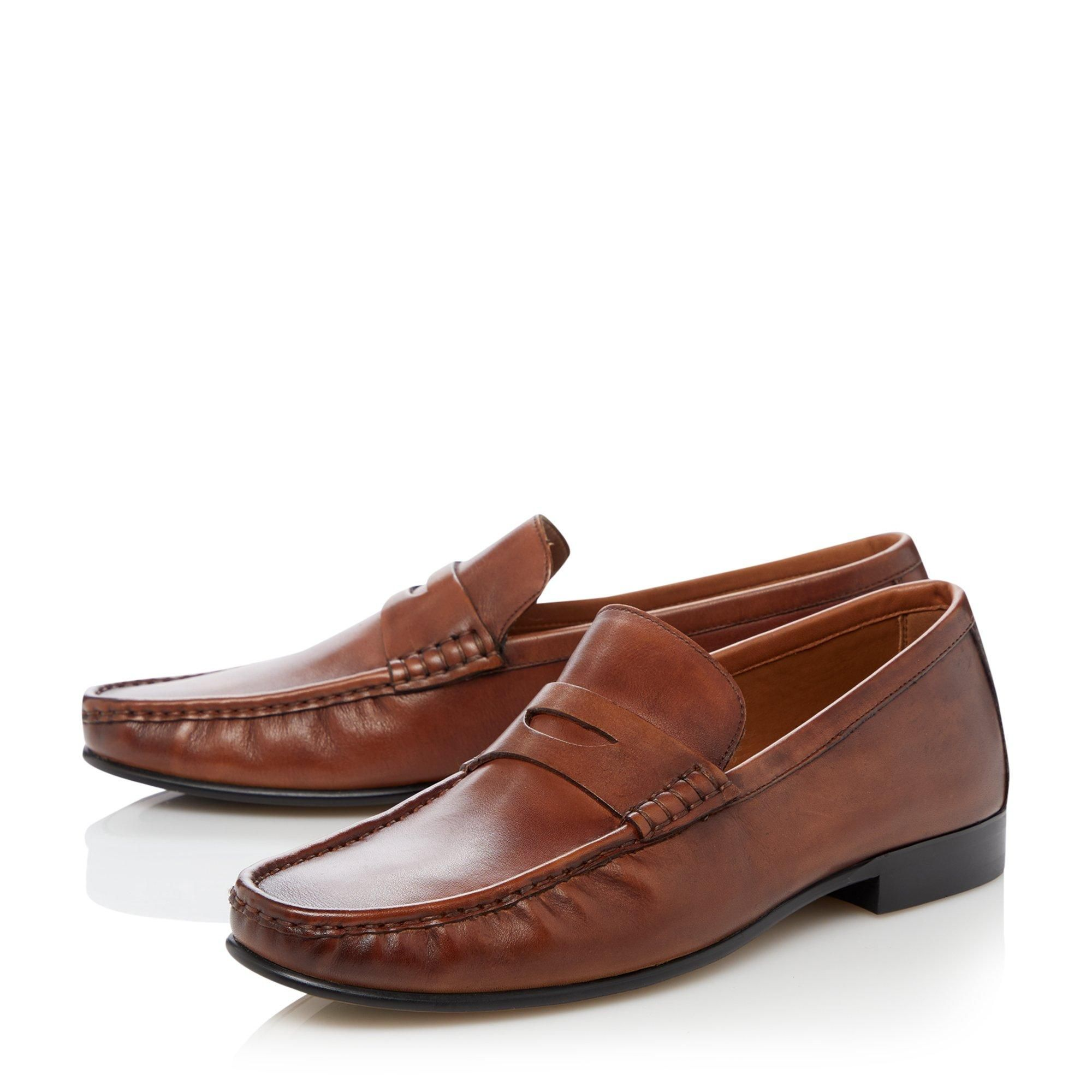 Dune Mens STRIKES 1 Smart Penny Loafers