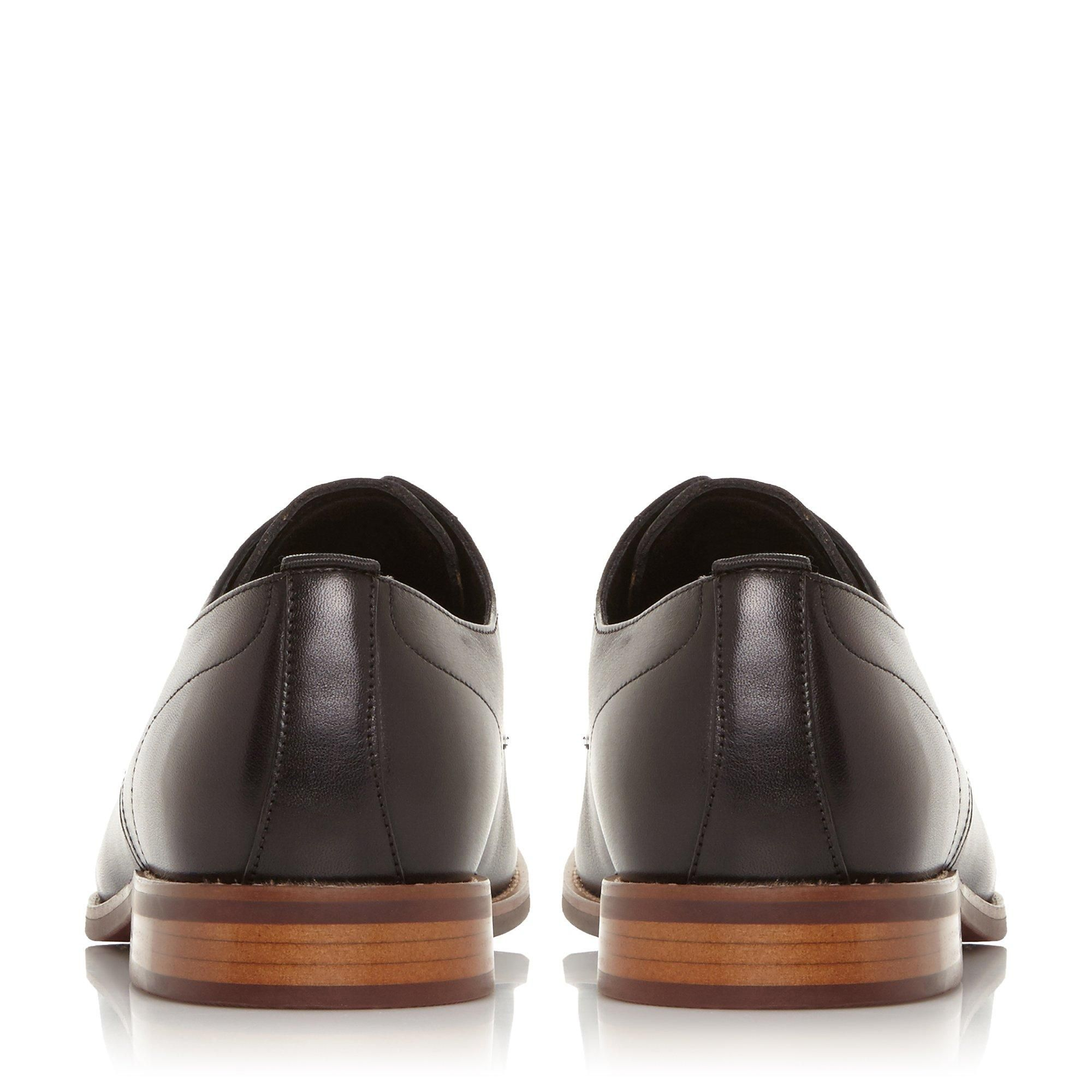 Dune Mens SUFFOLKS Leather Smart Gibson Shoes