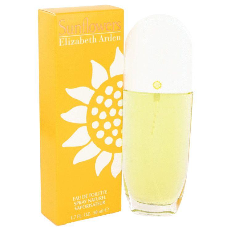 Sunflowers Eau De Toilette Spray By Elizabeth Arden 50 ml