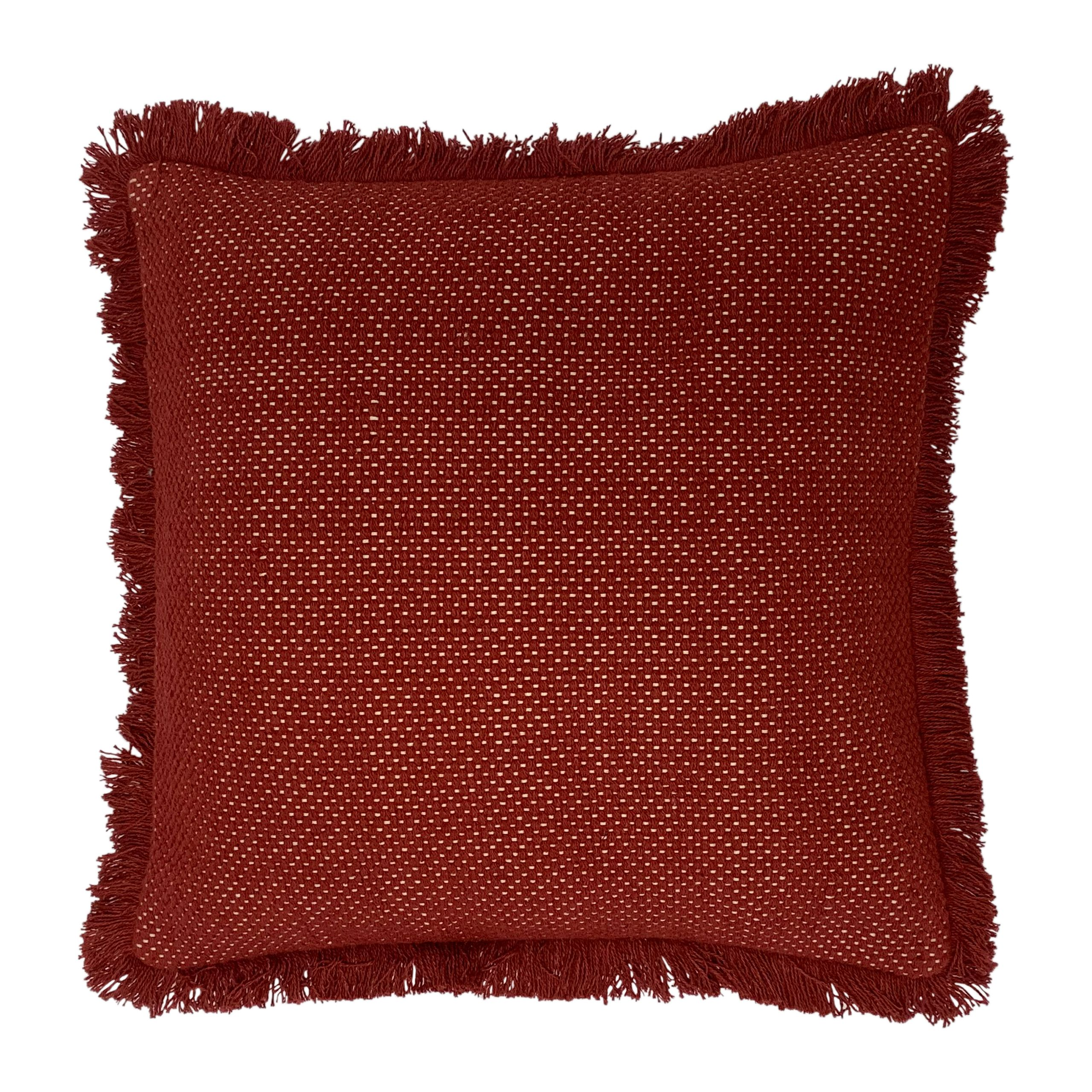 Sienna 45X45 Poly Cushion Brick