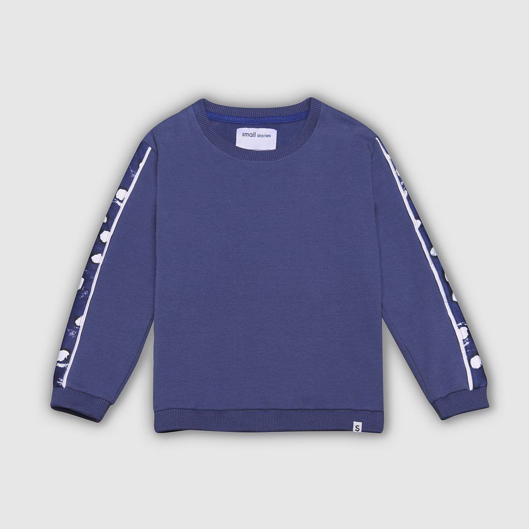 Panel Dot Sweater