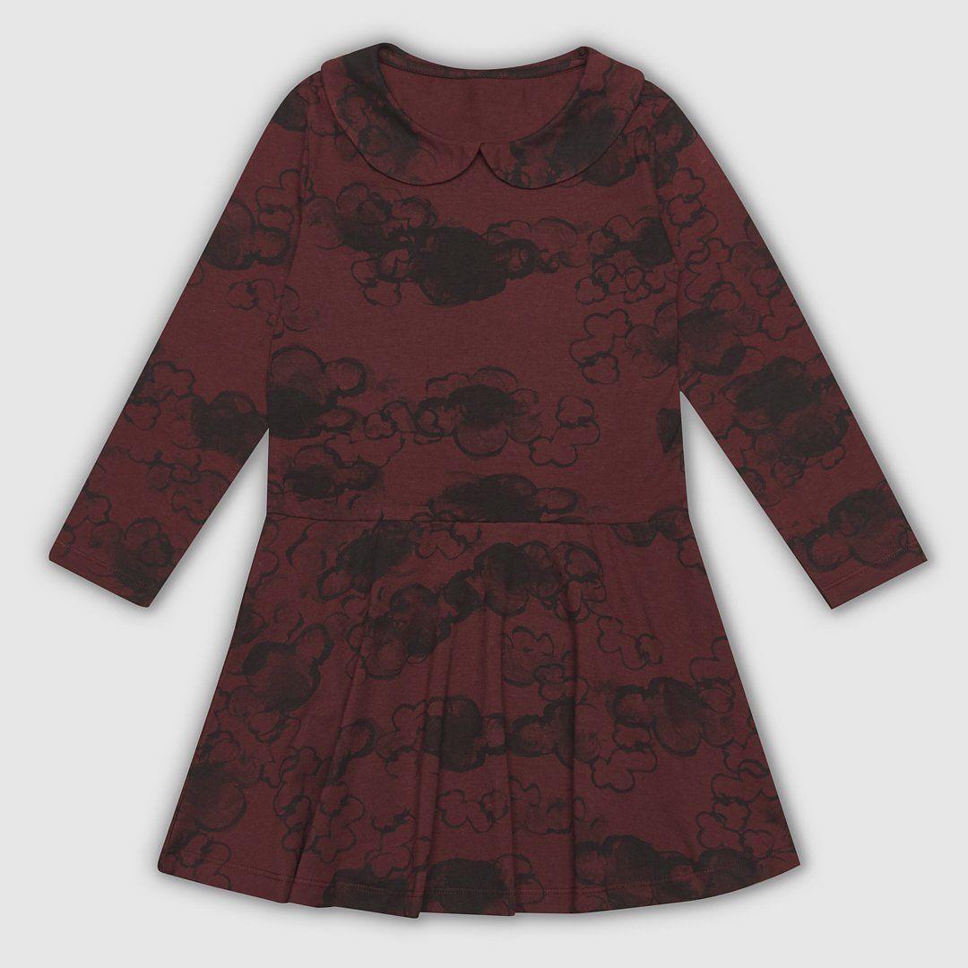 Cloud Collar Dress