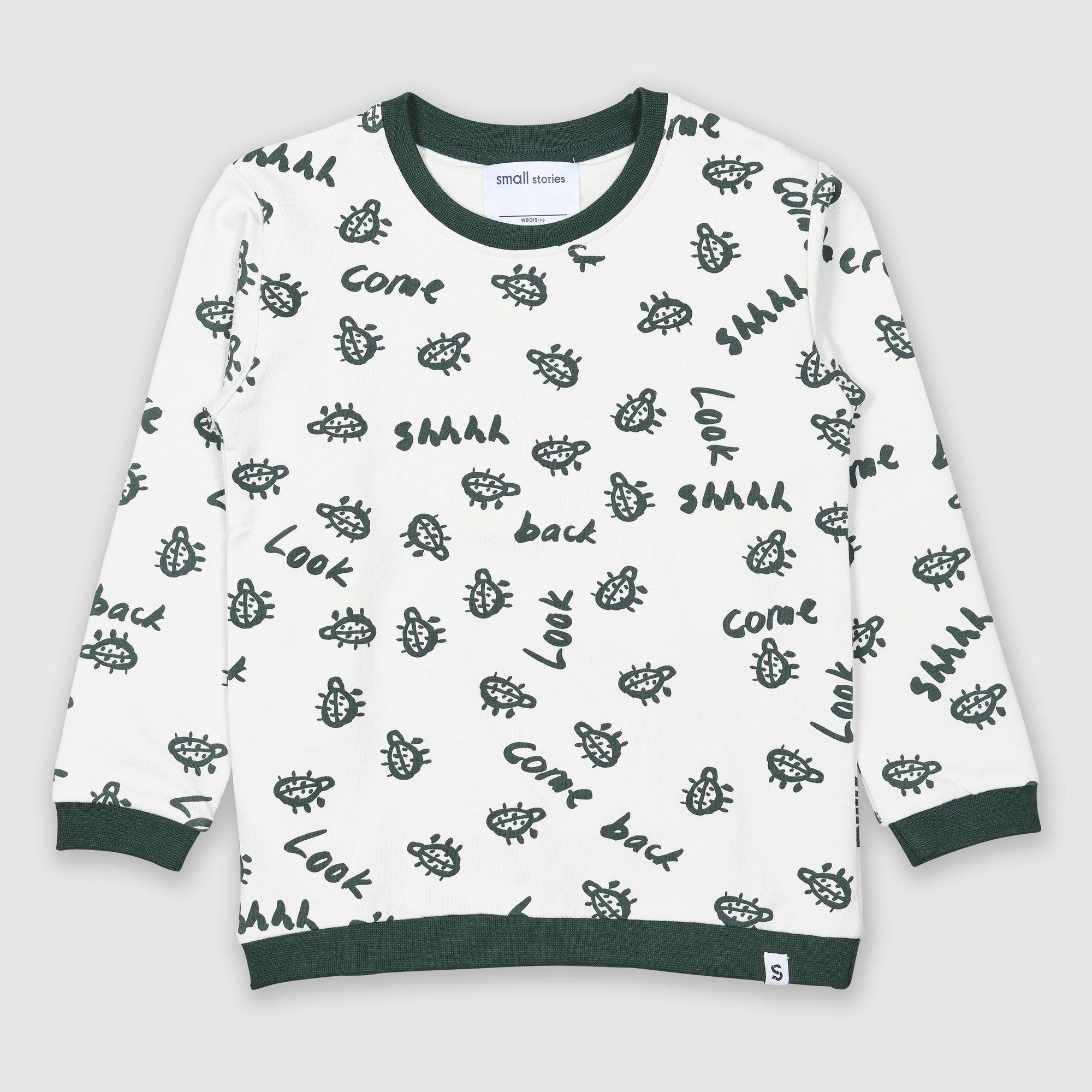 Painted Bug Sweater