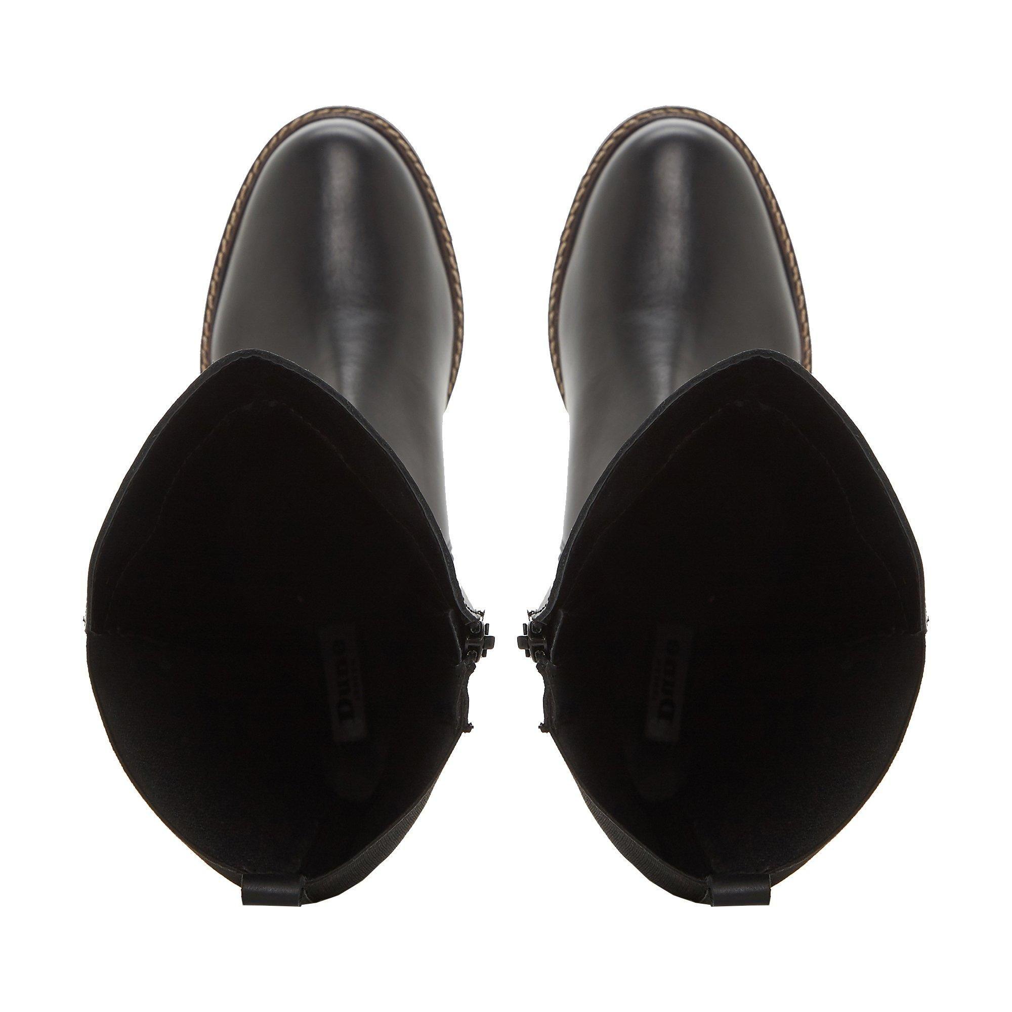 Dune Ladies TAMERA Buckle Detail Knee High Boots