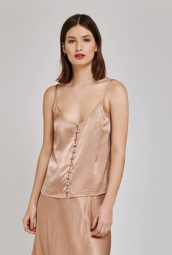 Melly Stone Satin Cami