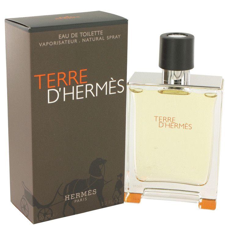 Terre D'hermes Eau De Toilette Spray By Hermes 100 ml